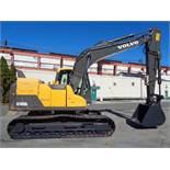 2013 Volvo EC140DL Hydraulic Excavator