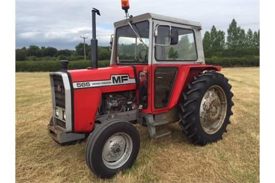 4 Door Tractor : Massey ferguson tractor with door cab only hrs