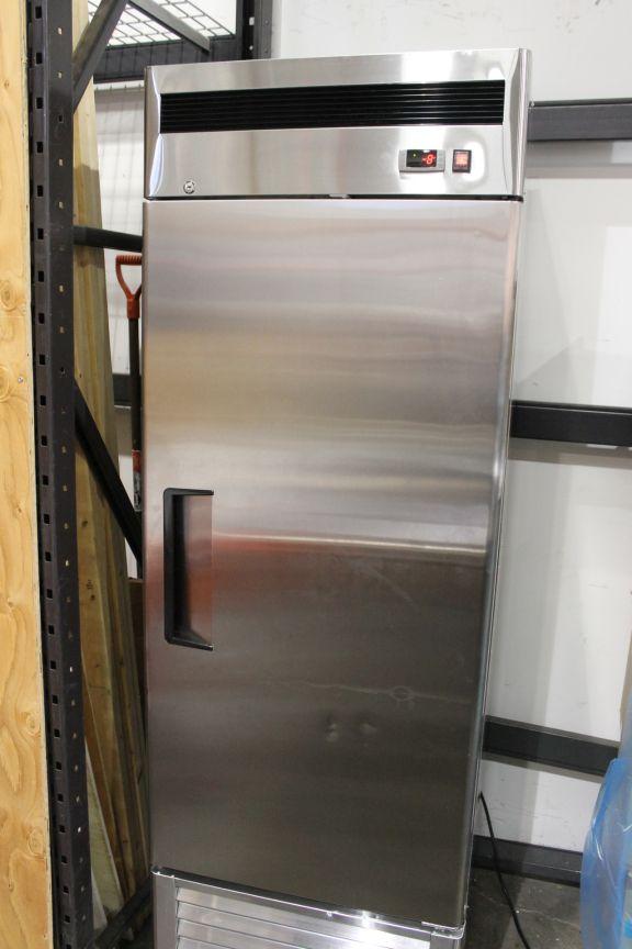 Lot 1 - Patriot Stainless Single Door Freezer 23 cubic ft. Solid Door Freezer, Model FB23F