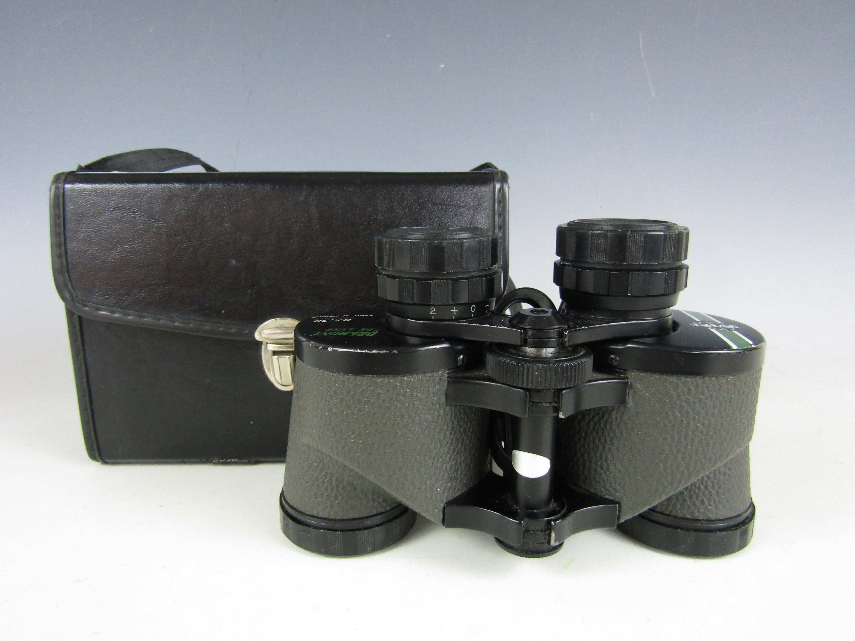 Lot 42 - A cased pair of Swift 8x30 binoculars