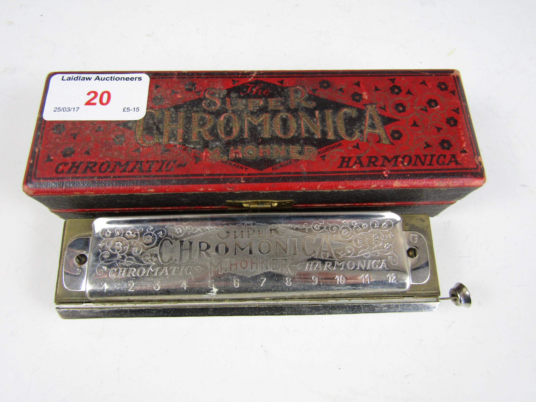 Lot 20 - A boxed Super Chromonica