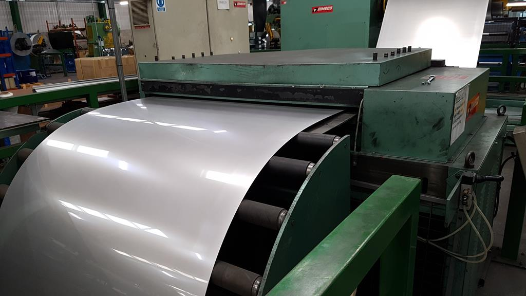 Dimeco 1300mm Cut to Length Line for Stainless Steel and Aluminium. Reserve £10,000 - Image 9 of 24