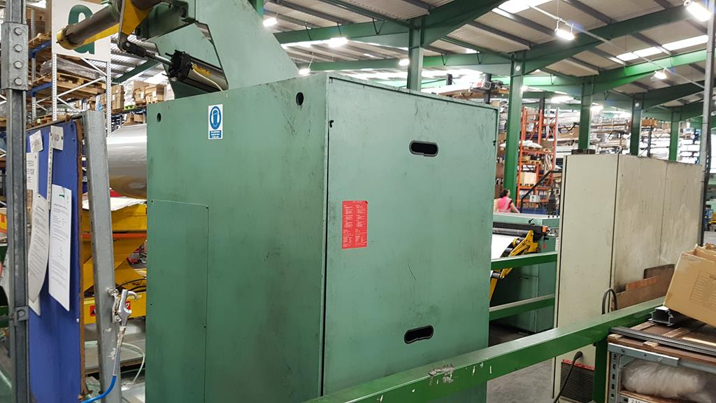 Dimeco 1300mm Cut to Length Line for Stainless Steel and Aluminium. Reserve £10,000 - Image 3 of 24