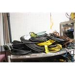 ASSORTED ELECTRICAL CORDS