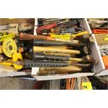 ASSORTED HAMMERS IN BOX