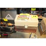 (2) TACKLE BOXES WITH CONTENTS