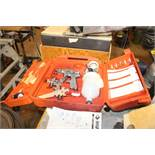 HUSKY SPRAY GUN KIT WITH CASE