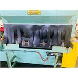 """RANSHOFF PARTS WASHER, BELT STYLE 53"""" x 8"""" CAPACITY, 2 STAGE, SN 3686, YEAR 2000"""
