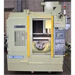 OKUMA MODEL MU-400VA, 5 AXIS FULL CONTOURING, CNC VMC, YEAR 2005, SN 110594