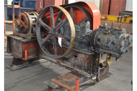 Pa air compressor cast iron construction electric motor