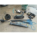 Lot 736 - VARIOUS POND EQUIPMENT INCLUDING FILTERS, PIPING AND WATER CLARIFIER -UV FILTER *NO VAT*