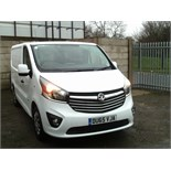 Lot 3 - 2015/65 REG VAUXHALL VIVARO 2900 SPORTIVE CDTI PANEL VAN ONE OWNER