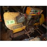 "COSEN HORIZONTAL BAND SAW WITH APPROX. 16"" X 12"" CAPACITY, S/N: N/A (CI)"