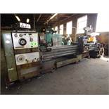 "CLOVER 28/39 GAP BED ENGINE LATHE WITH 26"" SWING OVER BED, 36"" SWING OVER GAP, 132"" DISTANCE BETWEEN"