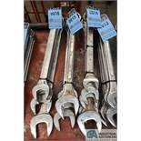"""COMBINATION WRENCHES TO 2-1/2"""""""