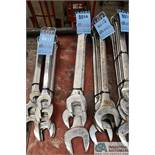 """COMBINATION WRENCHES TO 2-1/4"""""""
