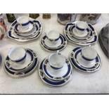 A Royal Albert part tea set