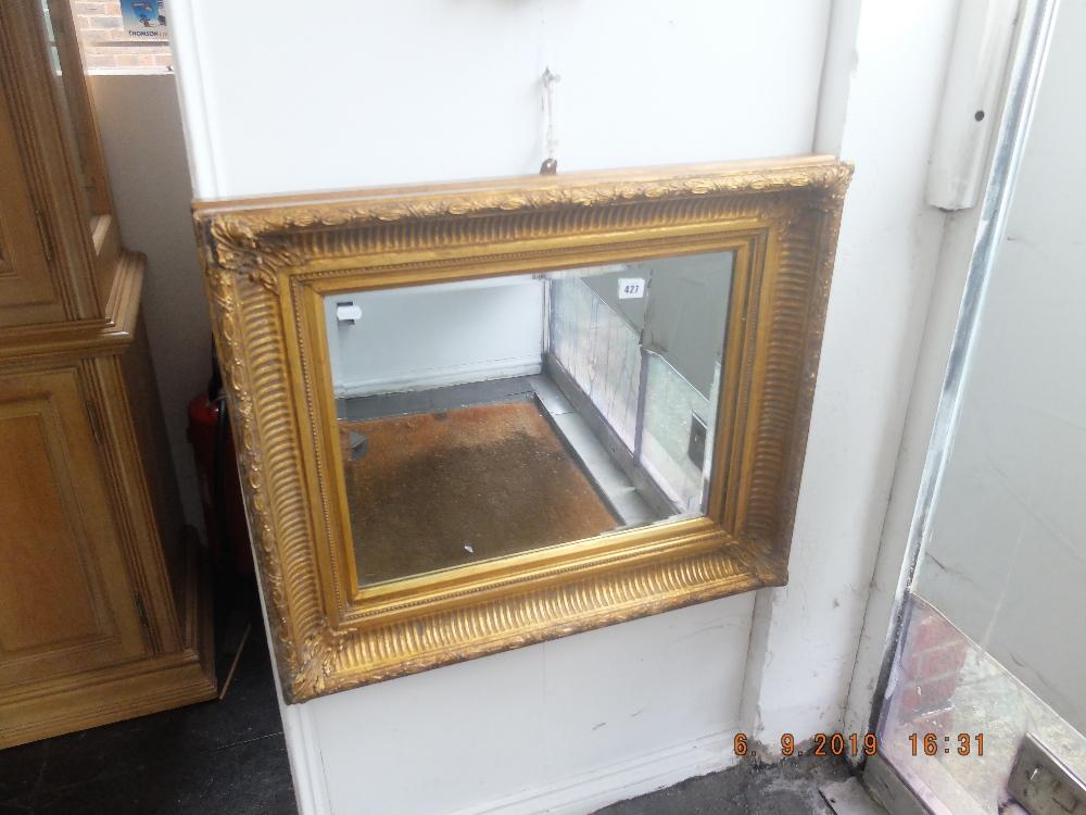 Lot 345 - A good quality gilt framed mirror