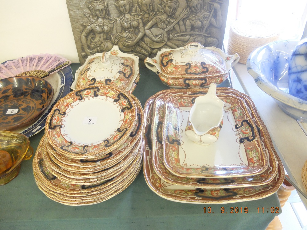 A Lincoln pottery dinner set - Image 3 of 3