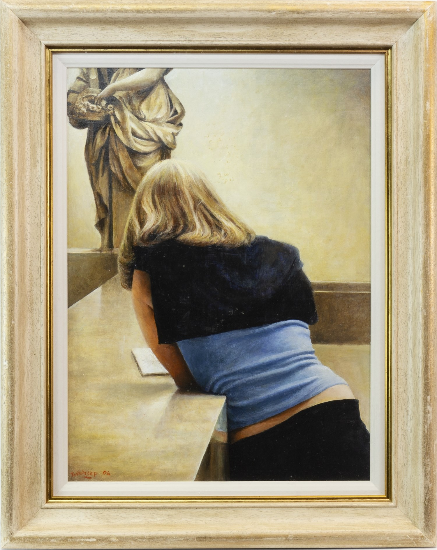 Lot 61 - PRIMAVERA, AN OIL ON CANVAS BOARD BY RICHARD WHINCOP