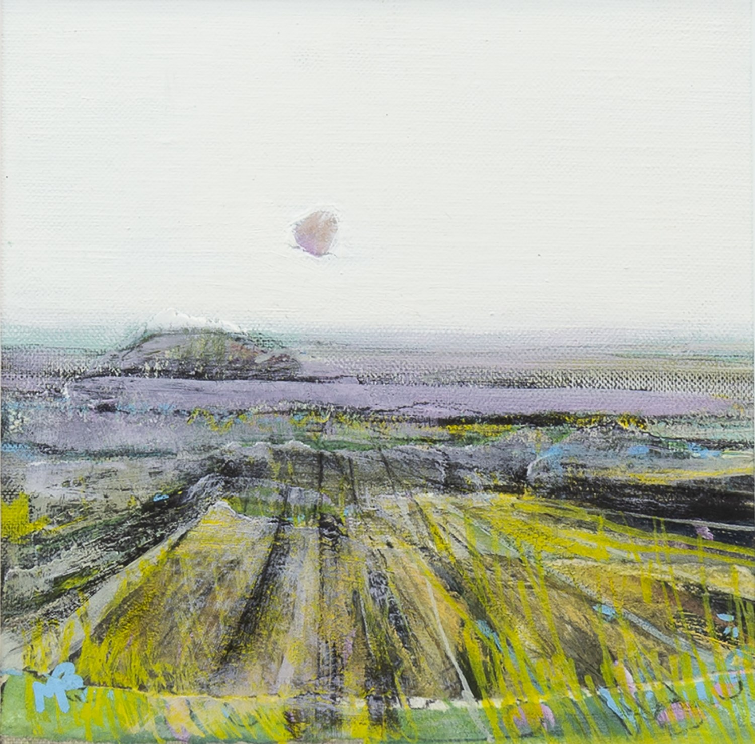 Lot 100 - WINTER FIELDS, BY MAY BYRNE