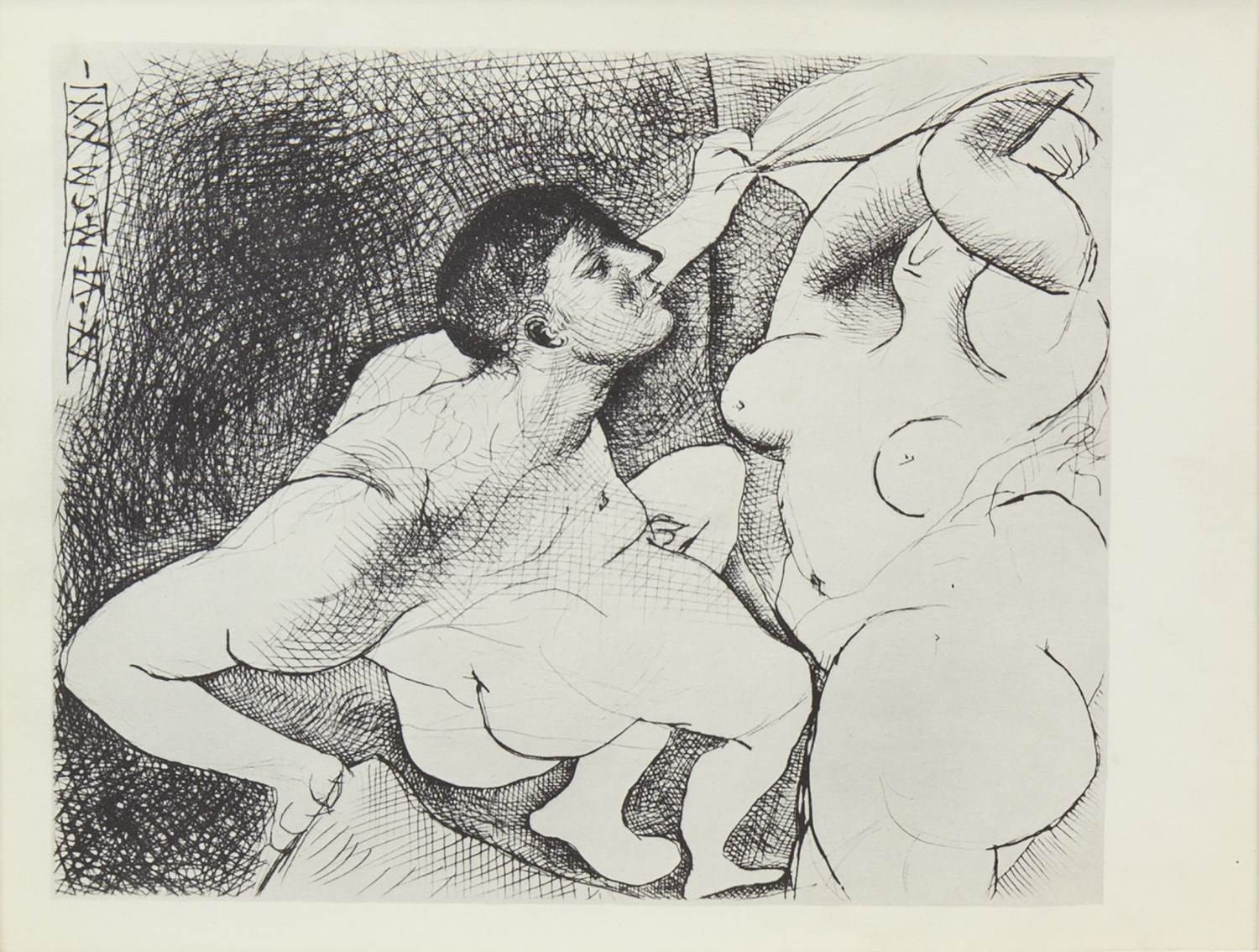 Lot 78 - SET OF SIX PRINTS FROM THE VOLLARD SUITE (1956), BY PABLO PICASSO