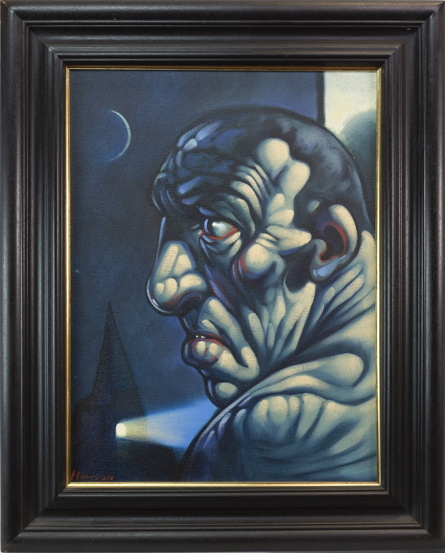 Lot 99 - HOPE, AN OIL ON CANVAS BY PETER HOWSON