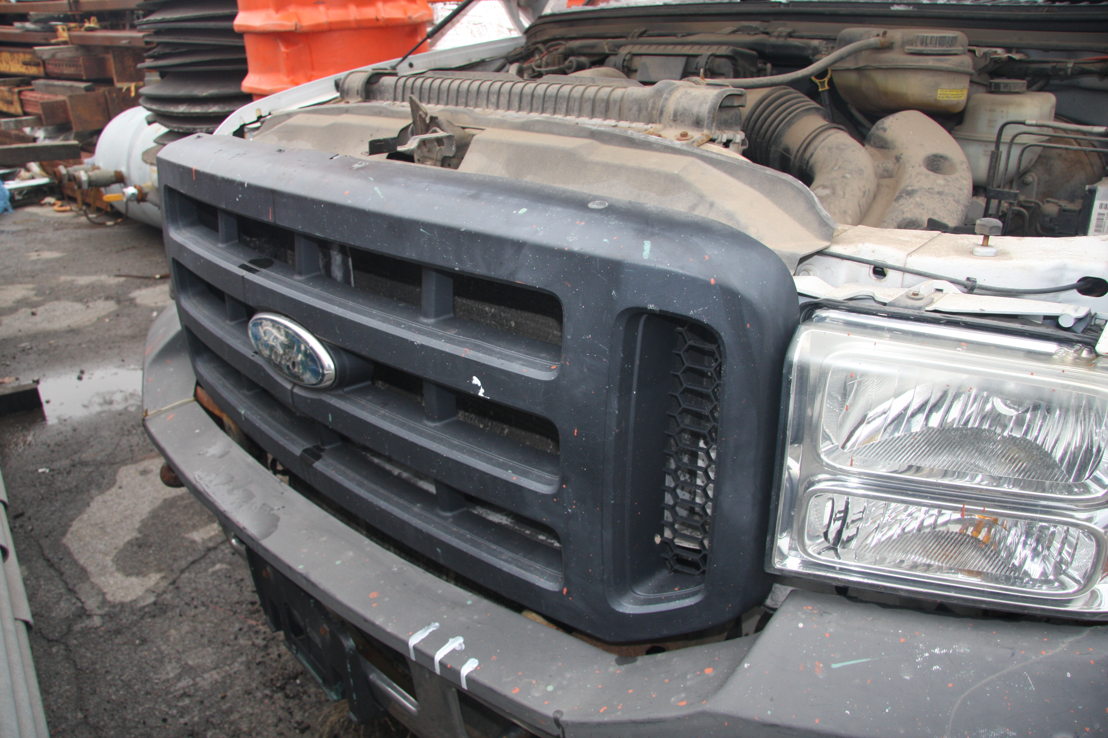 Lot 3 - 2006 FORD F-250 XL SUPER DUTY PICKUP TRUCK, 4-WHEEL DRIVE, AUTOMATIC, APPROXIMATELY 95,601 MILES,