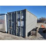 20' SHIPPING CONTAINER (#6) [LOCATED @ 6 CANAL ROAD, PELHAM, NY (BRONX)]