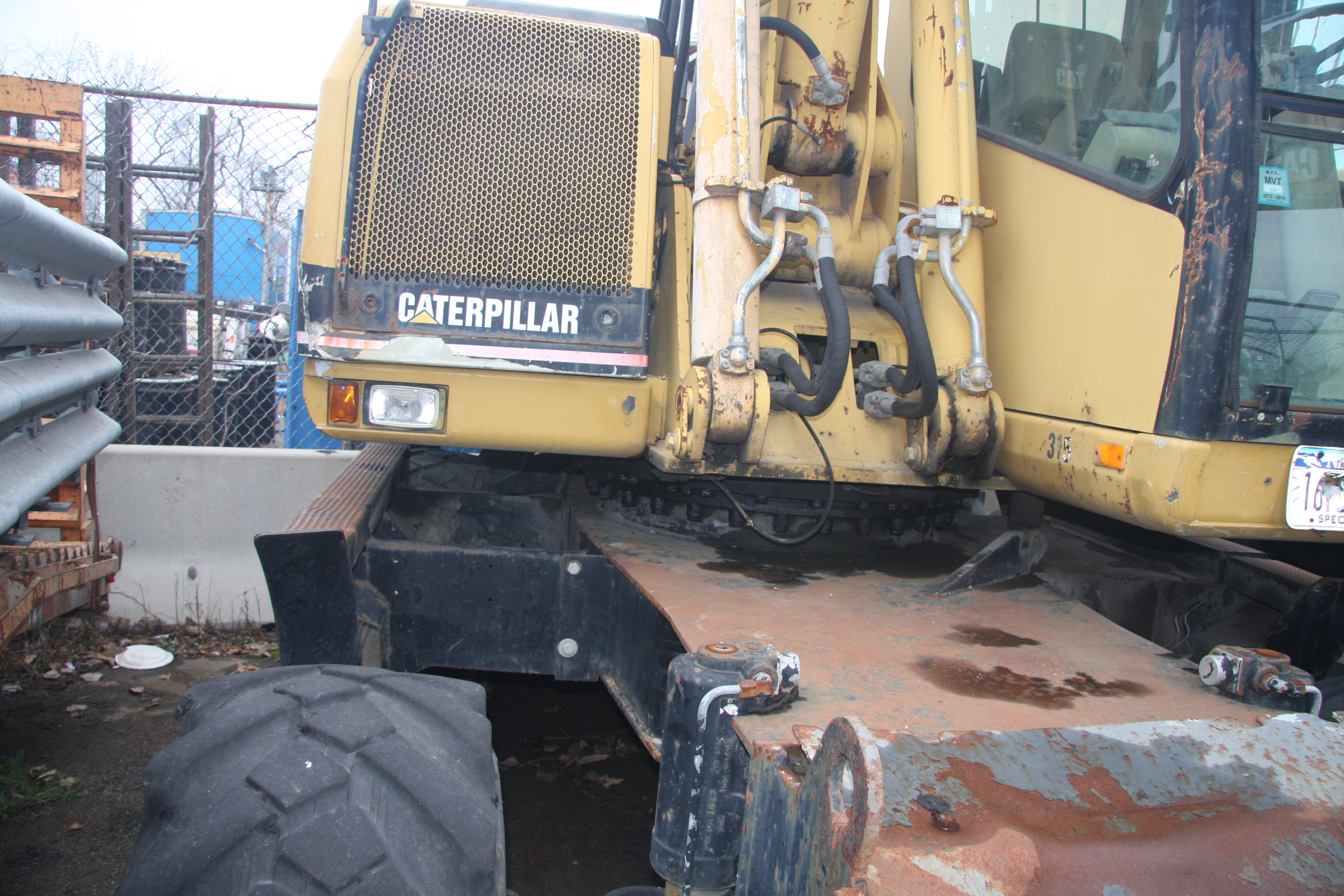 Lot 9 - 1996 CATERPILLAR M318 EXCAVATOR, S/N: 8AL00493 (WEX1) [LOCATED @ KEM YARD - PELHAM MANOR, BRONX,