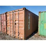 20' SHIPPING CONTAINER (TRITON) [LOCATED @ 6 CANAL ROAD, PELHAM, NY (BRONX)]