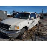 2003 FORD F-150 XLT PICKUP TRUCK, CREW CAB, TRITON V8, AUTOMATIC, APPROXIMATELY 214,220 MILES,