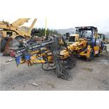 2008 RDH Drillmaster 100EH Jumbo Drill, Converted to Long Hoe, S/N 08-1046; Meter Shows 350 Hrs; (