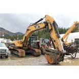 2003 Cat 330C Excavator, EROPS, Bush Guard, w/ WBM Bucket w/ Hydraulic Thumb; S/N DKY01549; Meter
