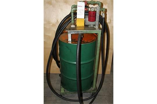 Oil Filter Transfer Cart 1 3 Hp Pump Motor 110v 55