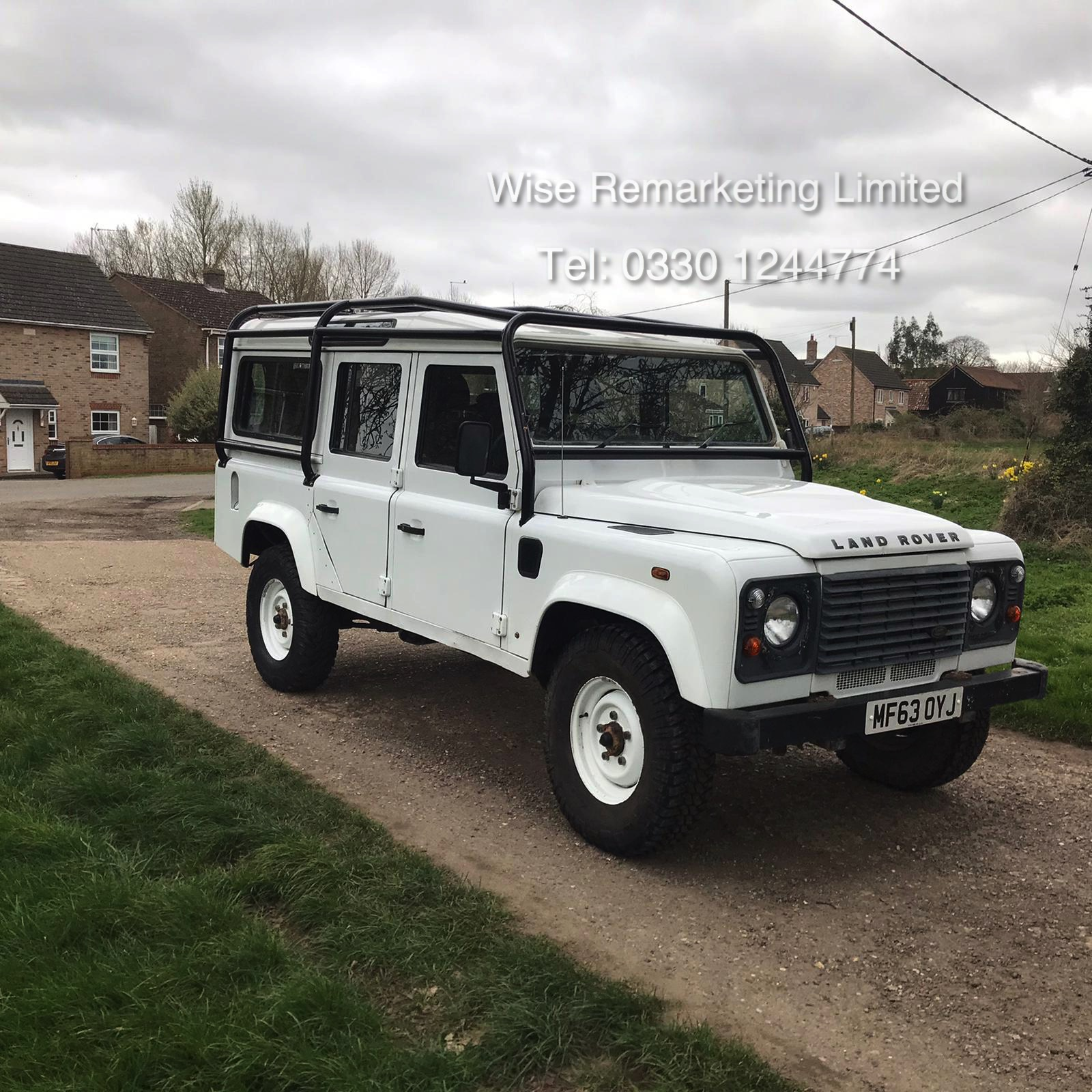 Land Rover Defender 110 2.2 TD County Station Wagon - 2014 Model - 1 Owner From New - ONLY 19K Miles