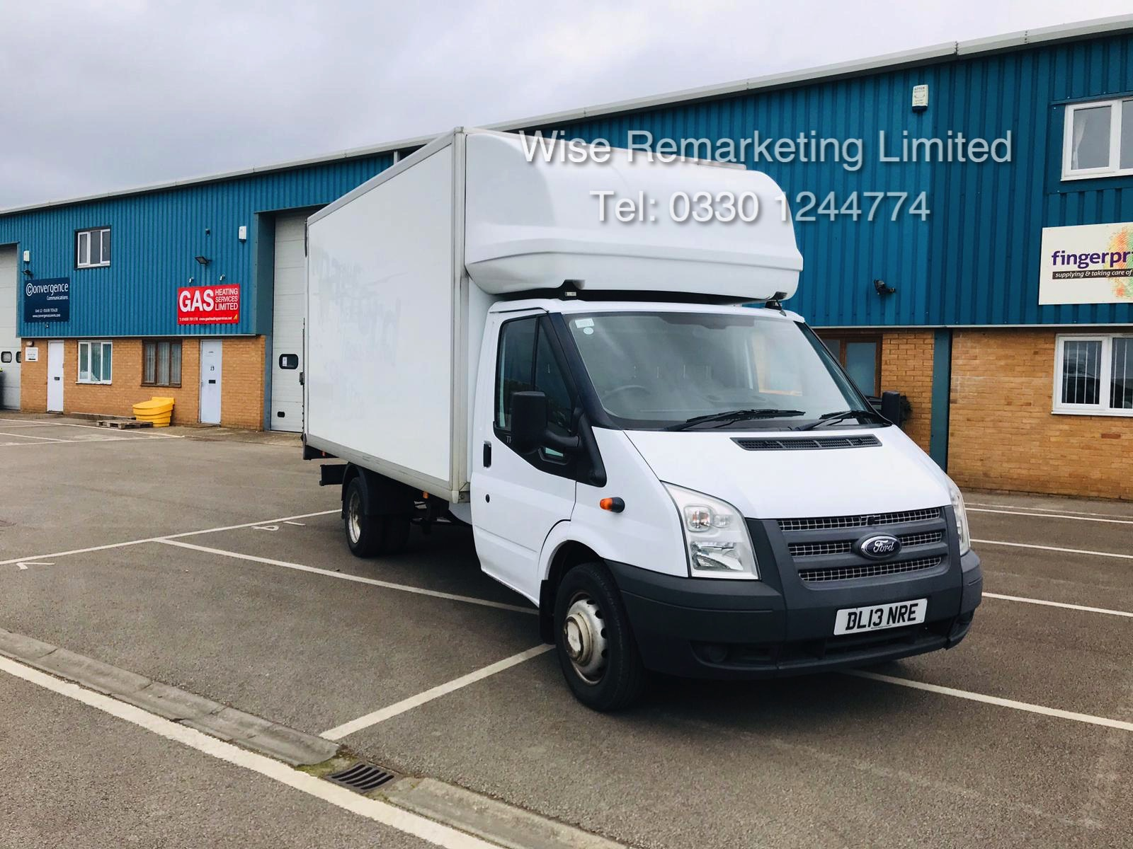 Ford Transit T350 2.2 TDCI Luton Van - 6 Speed - Tail Lift - 2013 13 Reg - SAVE 20% NO VAT - Image 2 of 23