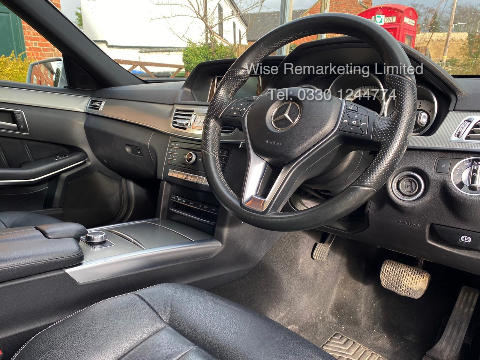 Mercedes E220d 2.1 Special Equipment Auto 2015 15 Reg - 1 Former Keeper - Sat Nav - Parking Sensors - Image 6 of 14