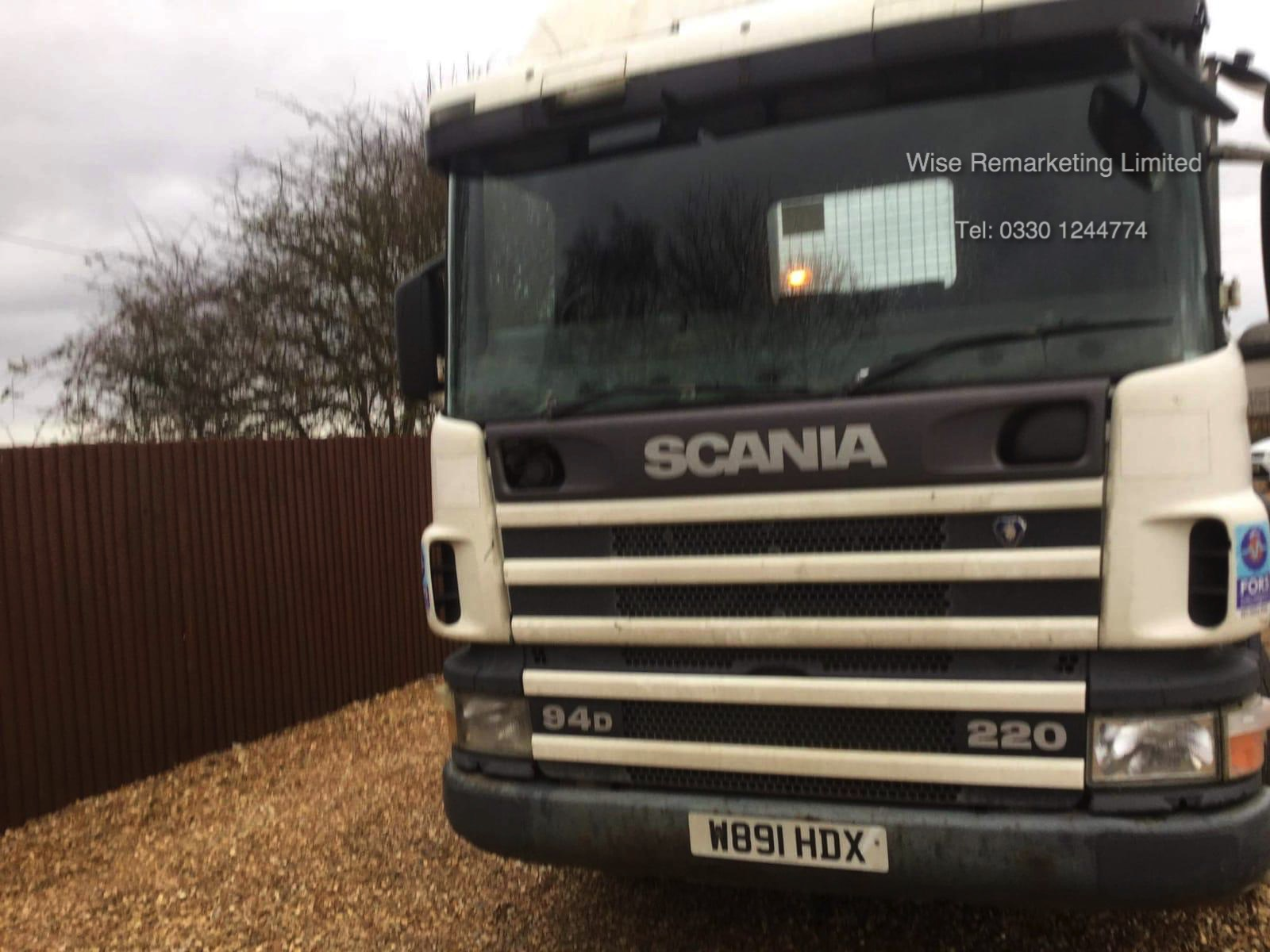 (Reserve Met) Scania 94d.220 18 Tonne 4x2 Flat Bed Lorry - W Reg 2000 Year - SAVE 20% NO VAT - Image 11 of 30