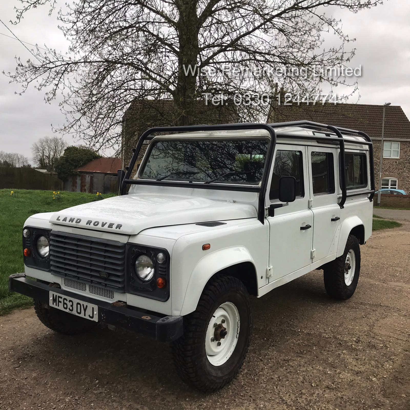 Land Rover Defender 110 2.2 TD County Station Wagon - 2014 Model - 1 Owner From New - ONLY 19K Miles - Image 2 of 21