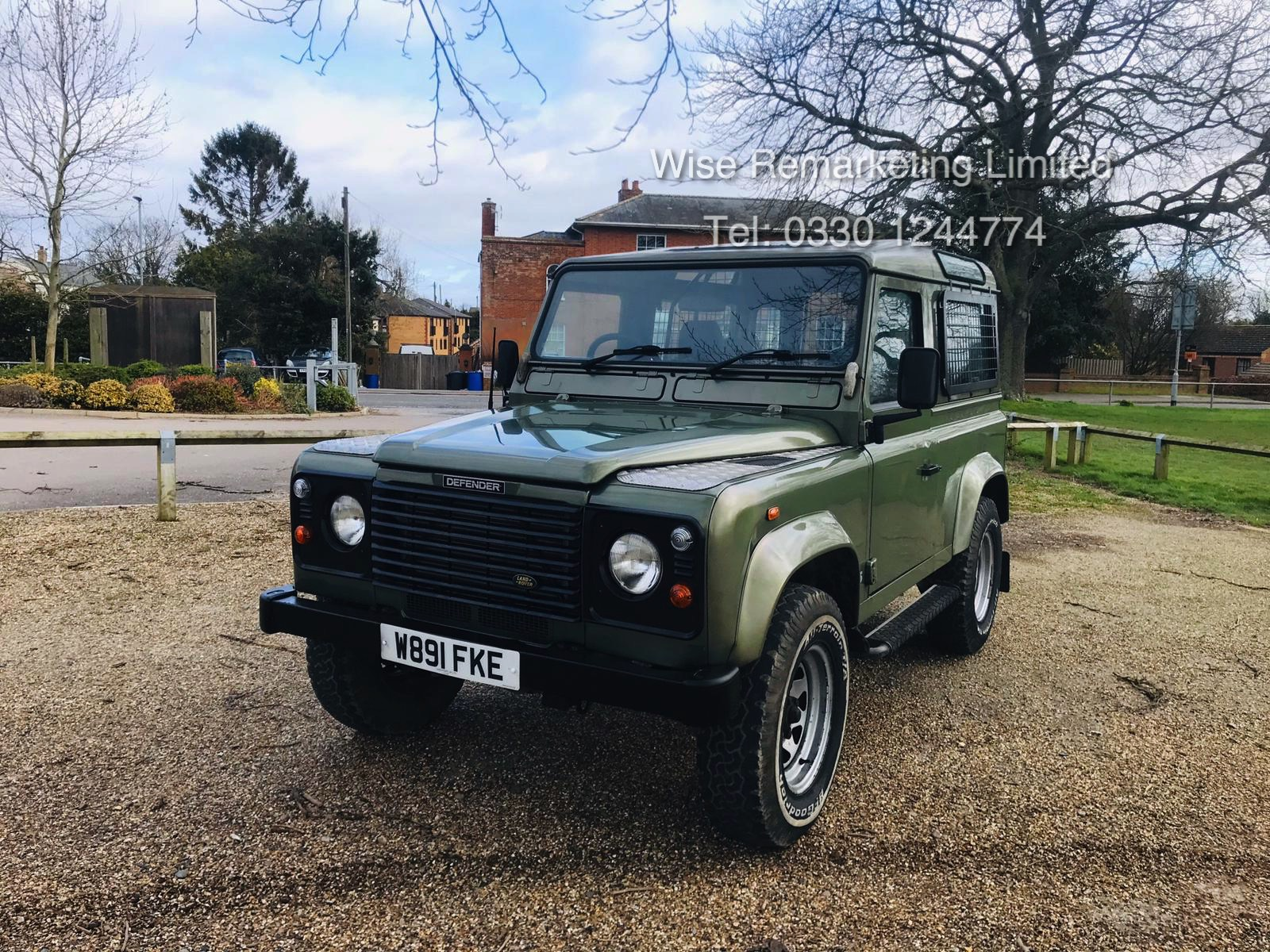 (RESERVE MET) Land Rover Defender 90 County 2.5 TD5 - 2000 Year W Reg - 7 Seater- SAVE 20% NO VAT - Image 3 of 12
