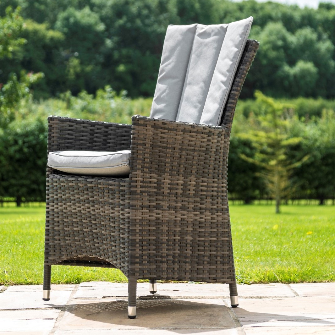 Rattan LA 4 Seat Square Outdoor Dining Set (Grey) *BRAND NEW* - Image 3 of 3