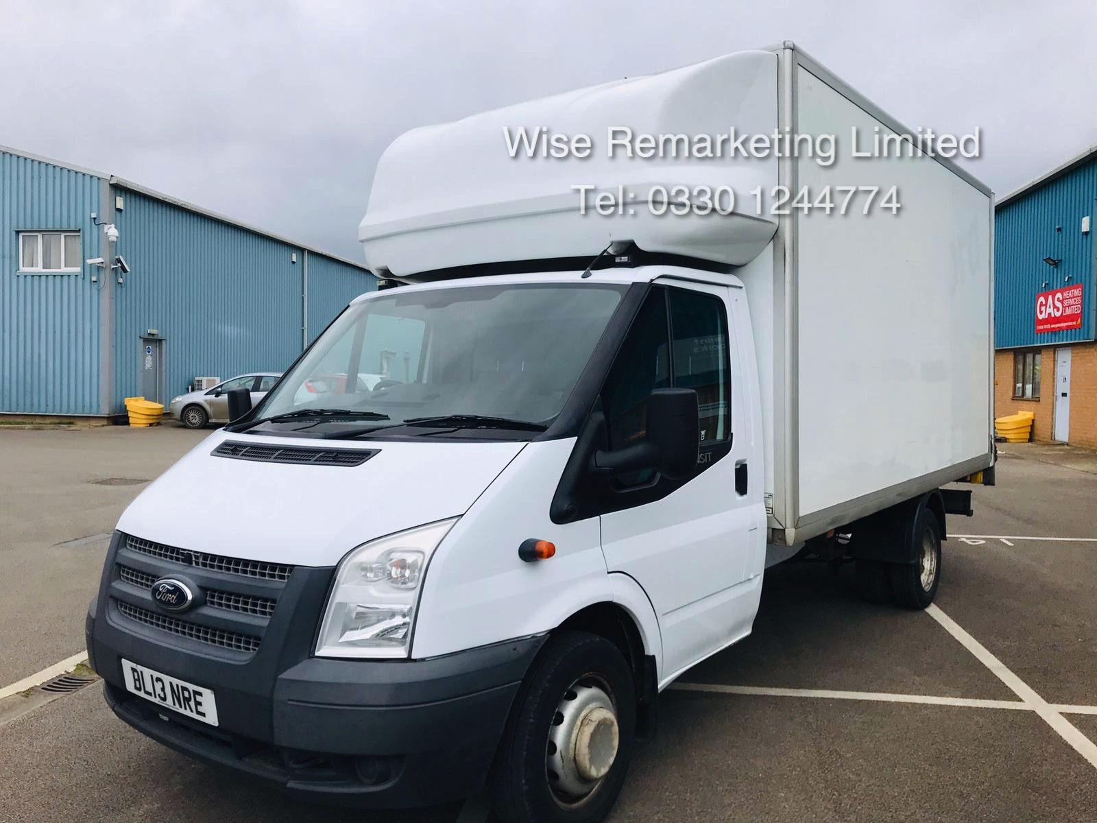 Ford Transit T350 2.2 TDCI Luton Van - 6 Speed - Tail Lift - 2013 13 Reg - SAVE 20% NO VAT