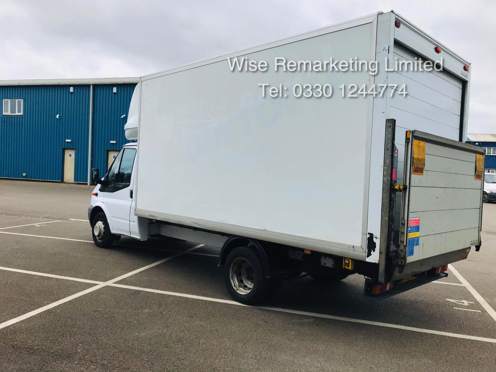 Ford Transit T350 2.2 TDCI Luton Van - 6 Speed - Tail Lift - 2013 13 Reg - SAVE 20% NO VAT - Image 3 of 23