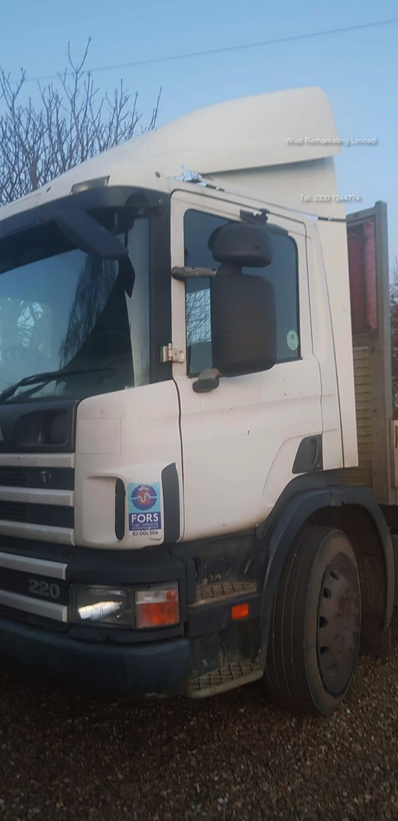 (Reserve Met) Scania 94d.220 18 Tonne 4x2 Flat Bed Lorry - W Reg 2000 Year - SAVE 20% NO VAT - Image 21 of 30