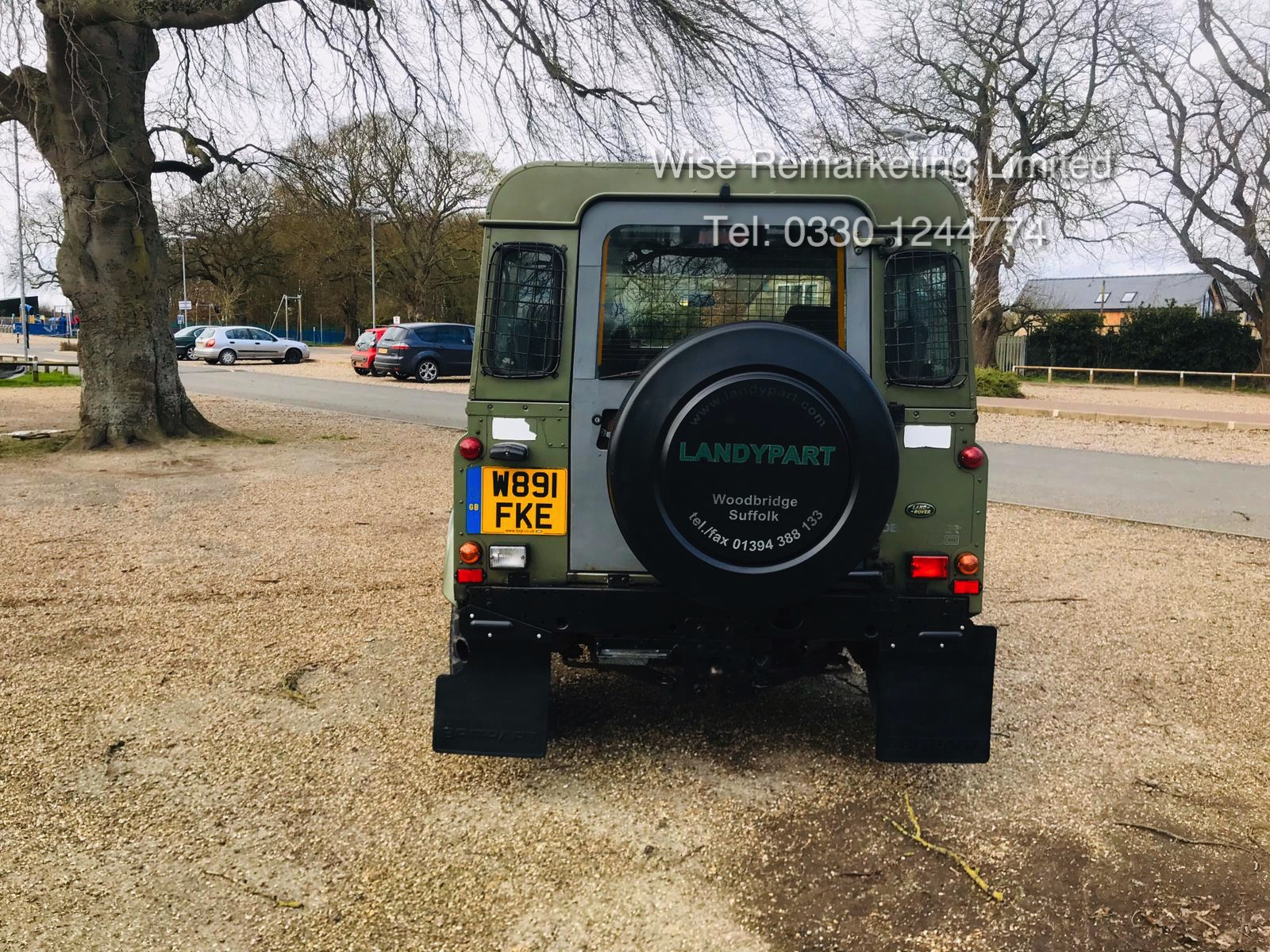 (RESERVE MET) Land Rover Defender 90 County 2.5 TD5 - 2000 Year W Reg - 7 Seater- SAVE 20% NO VAT - Image 2 of 12