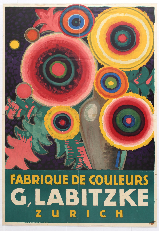 Lot 1101 - Advertising Poster Labitzke Jules de Praetere