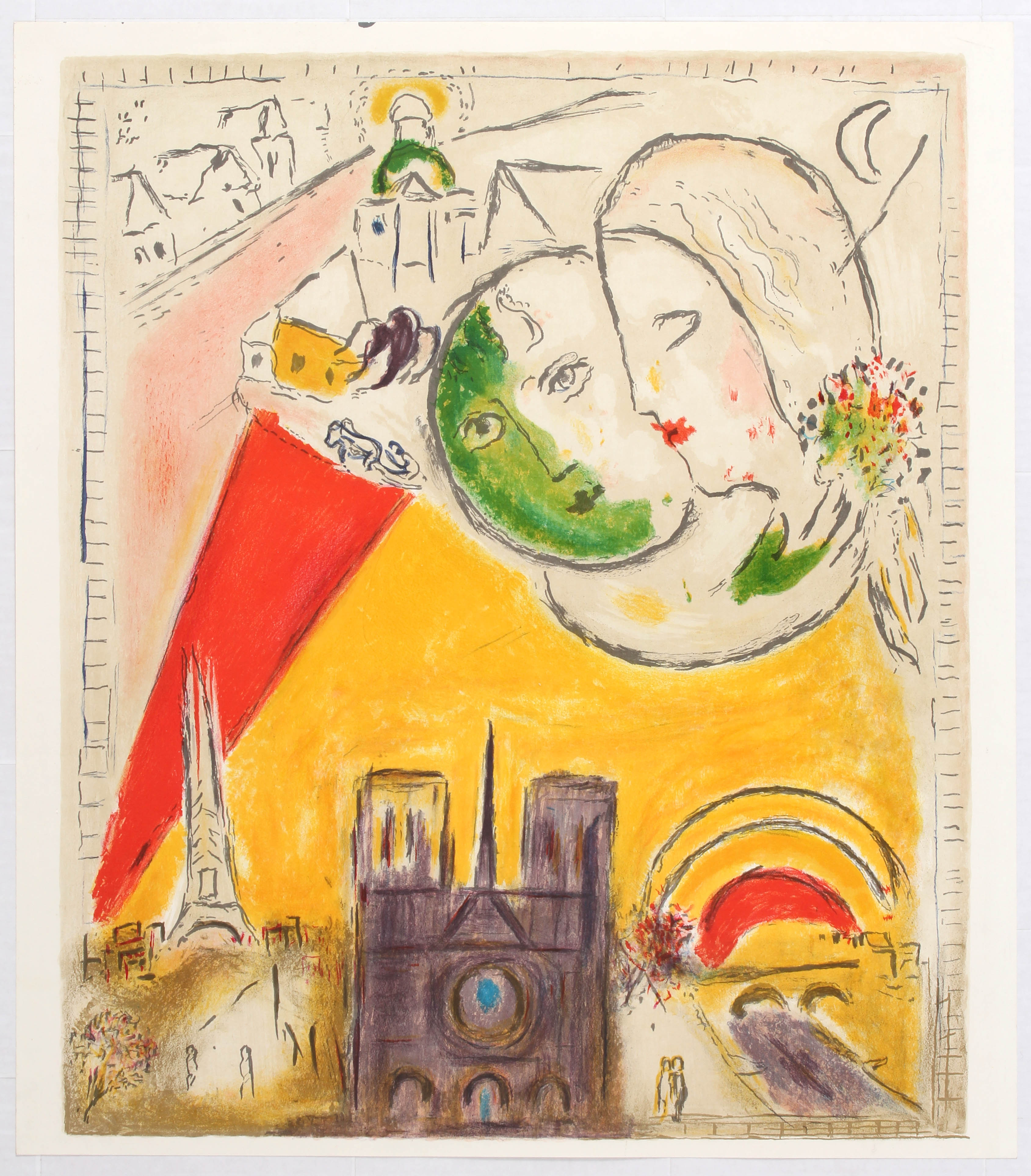 Lot 1515 - Advertising Poster Chagall Le Dimanche