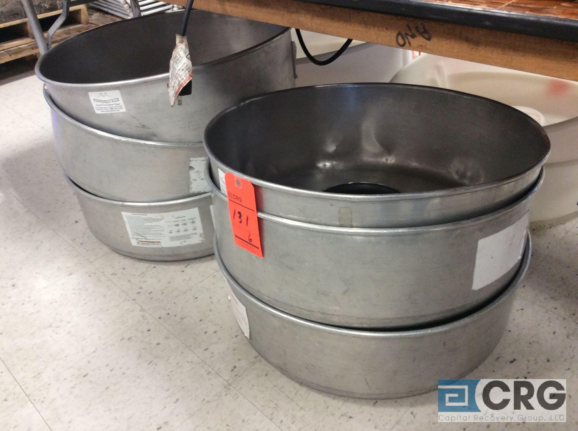 Lot of (6) spare cotton candy bowls