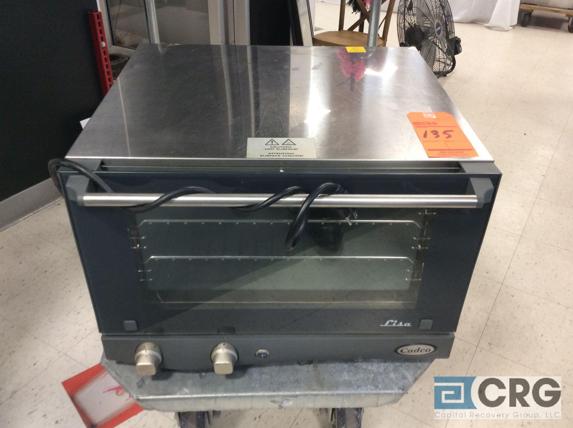 Cadco XAF013 electric convection oven, 1 phase